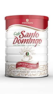 Santo Domingo 100% Pure Ground Coffee Vacuum Packed Can 10 Oz.