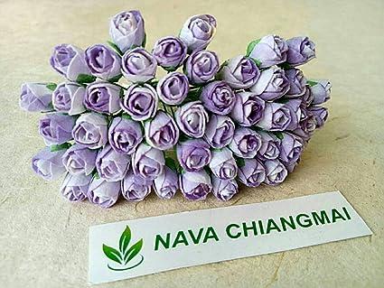Amazon nava chiangmai tiny two tone color rose bud mulberry nava chiangmai tiny two tone color rose bud mulberry flower paper wedding flowers mulberry mightylinksfo
