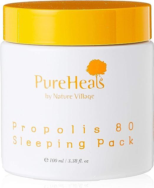 PureHeals Propolis 80 Sleeping Pack, Mascarilla De Noche 100 ml: Amazon.es: Belleza