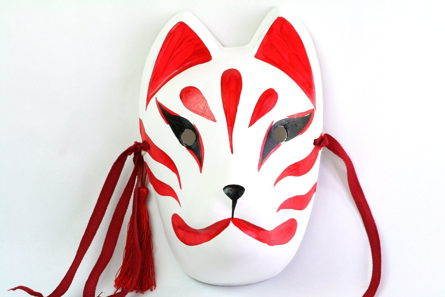 Sales No1! Mask handmade Ver fox. / Mask surface tool fox ...