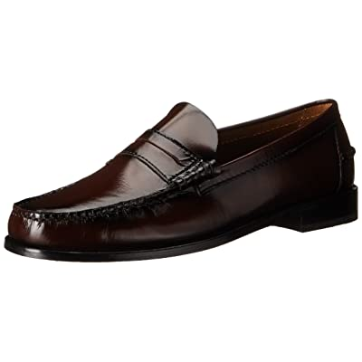 Florsheim Men's Berkley Penny Loafer, Burgundy, 10 D US | Loafers & Slip-Ons