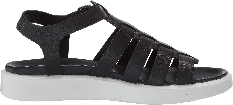 ECCO Flowtlxw, Sandali con Cinturino alla Caviglia Donna Nero Black 1001