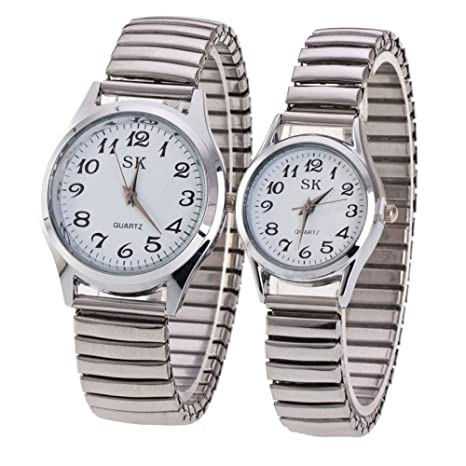 Quartz Watch Mesa Decorativa Pareja Tabla Pequeño Reloj Digital Fresco De La Cara,2