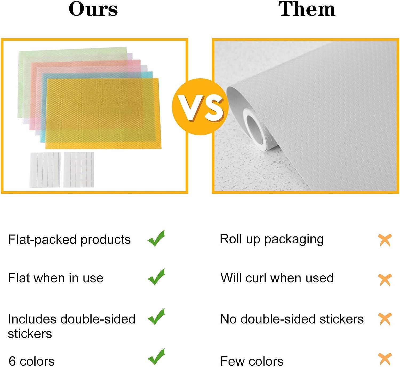 Multi Purpose Non Slip Mat Roll Drawer Liner Anti Slip Grip Mat Cabinet LIME GRN