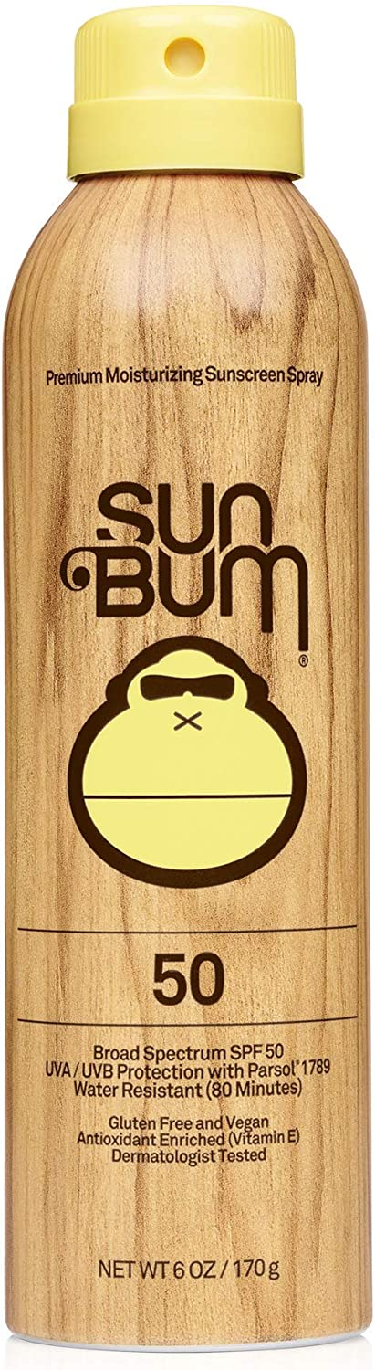 Sun Bum Original Sunscreen Spray | Vegan and Reef Friendly (Octinoxate & Oxybenzone Free) Broad Spectrum Moisturizing UVA/UVB Sunscreen with Vitamin E | 6 oz 71vT2B-BiahL