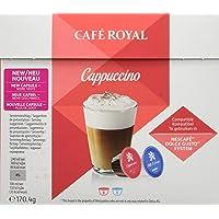 Café Royal Cappuccino Nouvelle Génération - 48 dosettes Compatibles avec le Système NESCAFE®* Dolce Gusto®* (Lot de 3X16)
