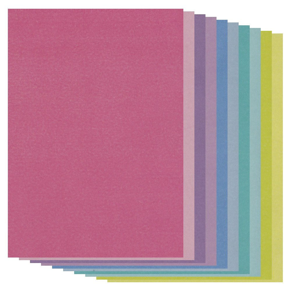 Coloured Parchment Paper A4 x 20 Mixed Pack Claritystamp