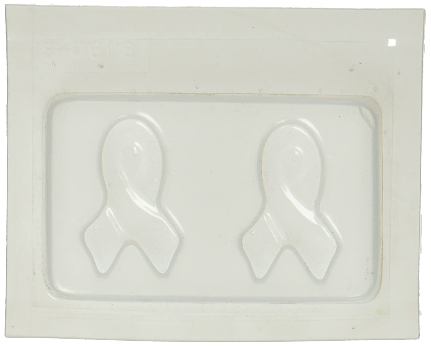 Yaley Resin Jewelry Reusable Plastic Mold 3.5X4.5-2 Small Ribbons 08-0616H