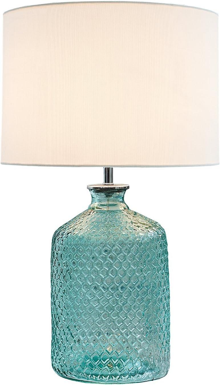 Elegante lámpara de mesa Classic Vidrio reciclado Italiano Diseño ...