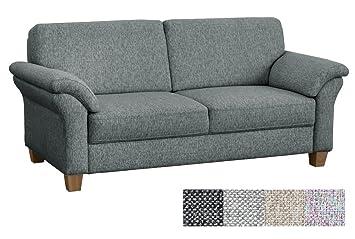 CAVADORE 3 Sitzer Baltrum/Landhaus Sofa Mit Federkern / 186 X 87 X 88