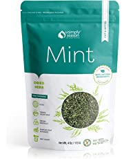 USimplySeason Mint Leaves, Dried Cut & Sifted, 4 oz resealable bag