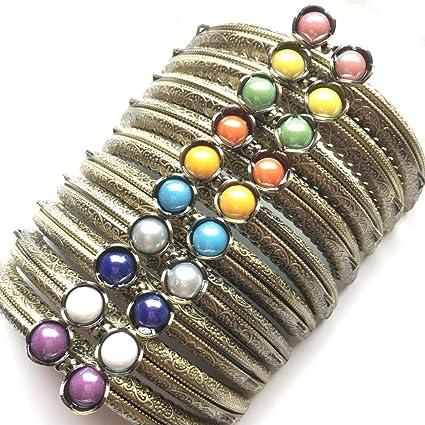 GuoFa 10PCS Purse Frame Coin 4.1//10.5cm Bag Kiss Clasp Lock DIY Craft Assorted Lotus Bead Bronze