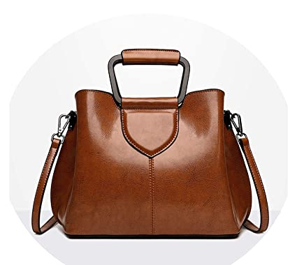 e4c1de1fbcee Amazon.com: Chibi-store casual vintage handbags women's genuine ...