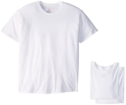 345071c5 Hanes Ultimate Men's Tall 5-Pack FreshIQ Crew Neck T-Shirt-Big Sizes