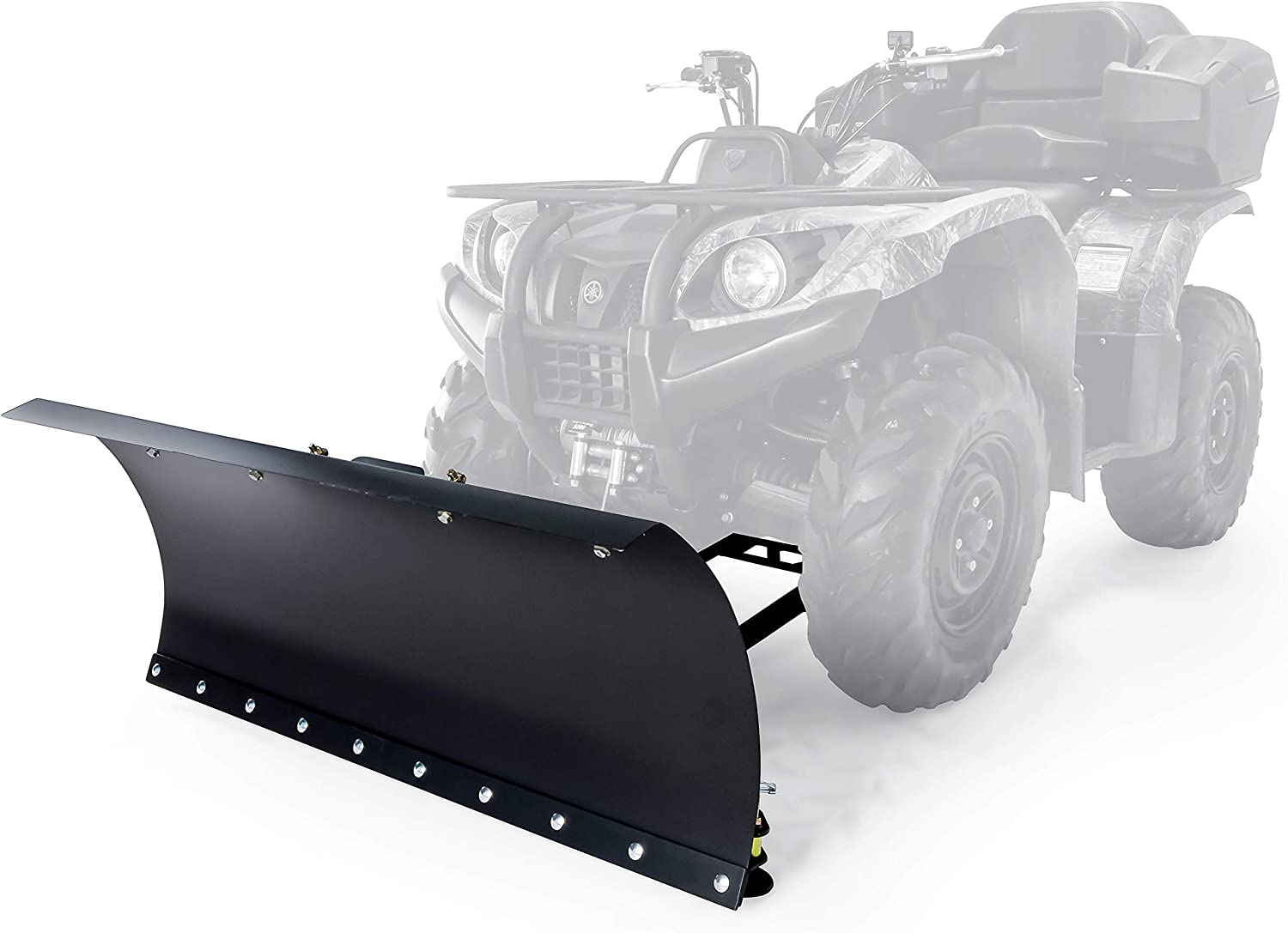 Amazon Com Black Boar Snow Plow Kit Atv Kit 48 With 9 Position Blade Angle Adjusts To 30 Degrees To Each Side 66016 Automotive