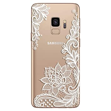 coque silicone fleur samsung galaxy s9