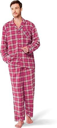 NEW Women/'s Ladies Cotton Flannelette Pajamas Pyjamas PJ Set Two Piece C
