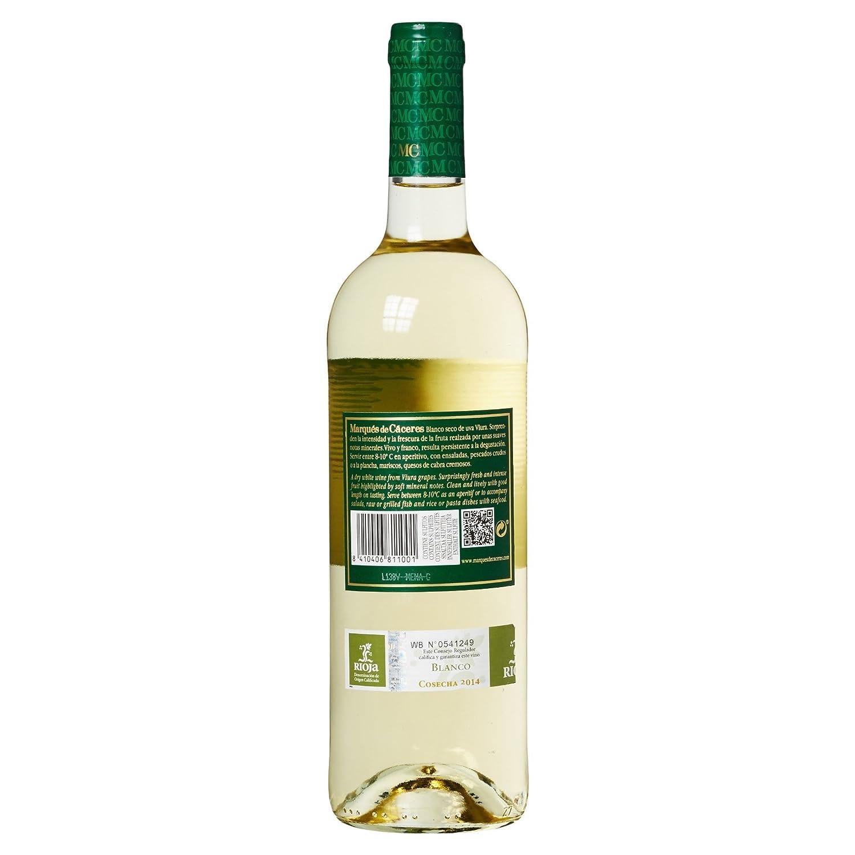 Marques De Caceres - Vino Blanco Joven Botella - 750 ml: Amazon.es: Amazon Pantry