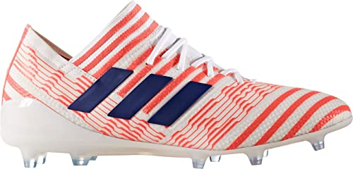 34c4c4a94be Adidas Nemeziz 17.1 FG Cleat Women s Soccer 11.5 White-Mystery Ink-Easy  Coral