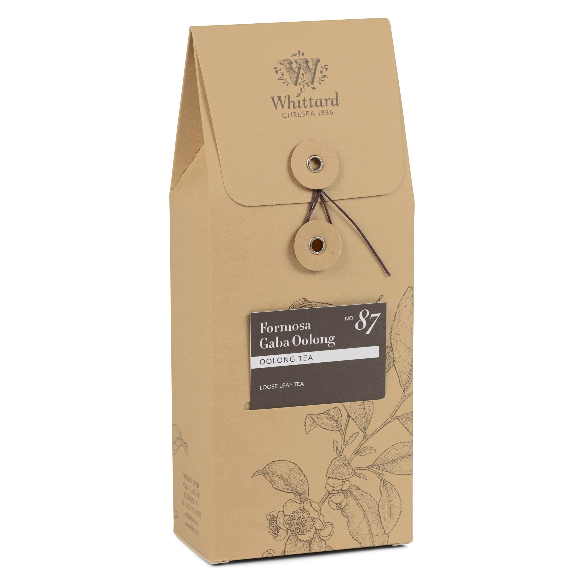 Whittard Tea Formosa Gaba Oolong Loose Leaf 50g by Whittard