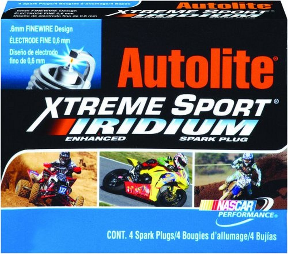 Amazon.com: nobrandname XS3922DP Autolite XS3922DP Xtreme Sport Iridium Powersports Spark Plug - Display Pack: Automotive