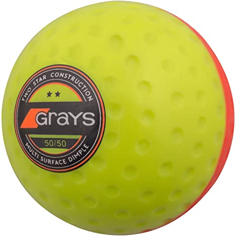 GRAYS Bola de 50/50, Color Amarillo y Naranja, tamaño 5.5 oz
