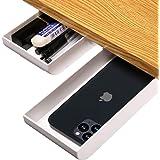 2-Pack Desk Pencil Drawer Organizer, Pop-Up Student Storage Hidden Desktop Drawer Tray, Great for Office School Home Desk (Wh