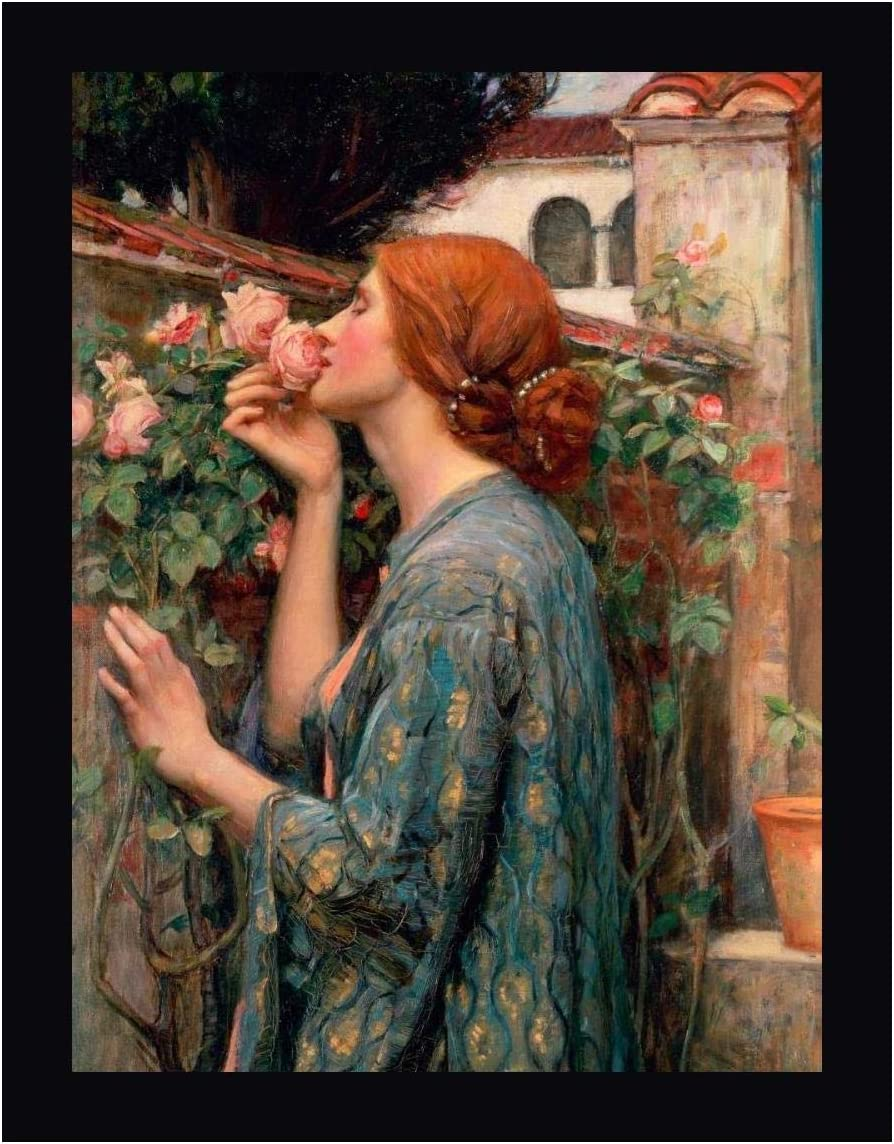 """by John William Waterhouse /""""The Soul of the Rose/"""""""