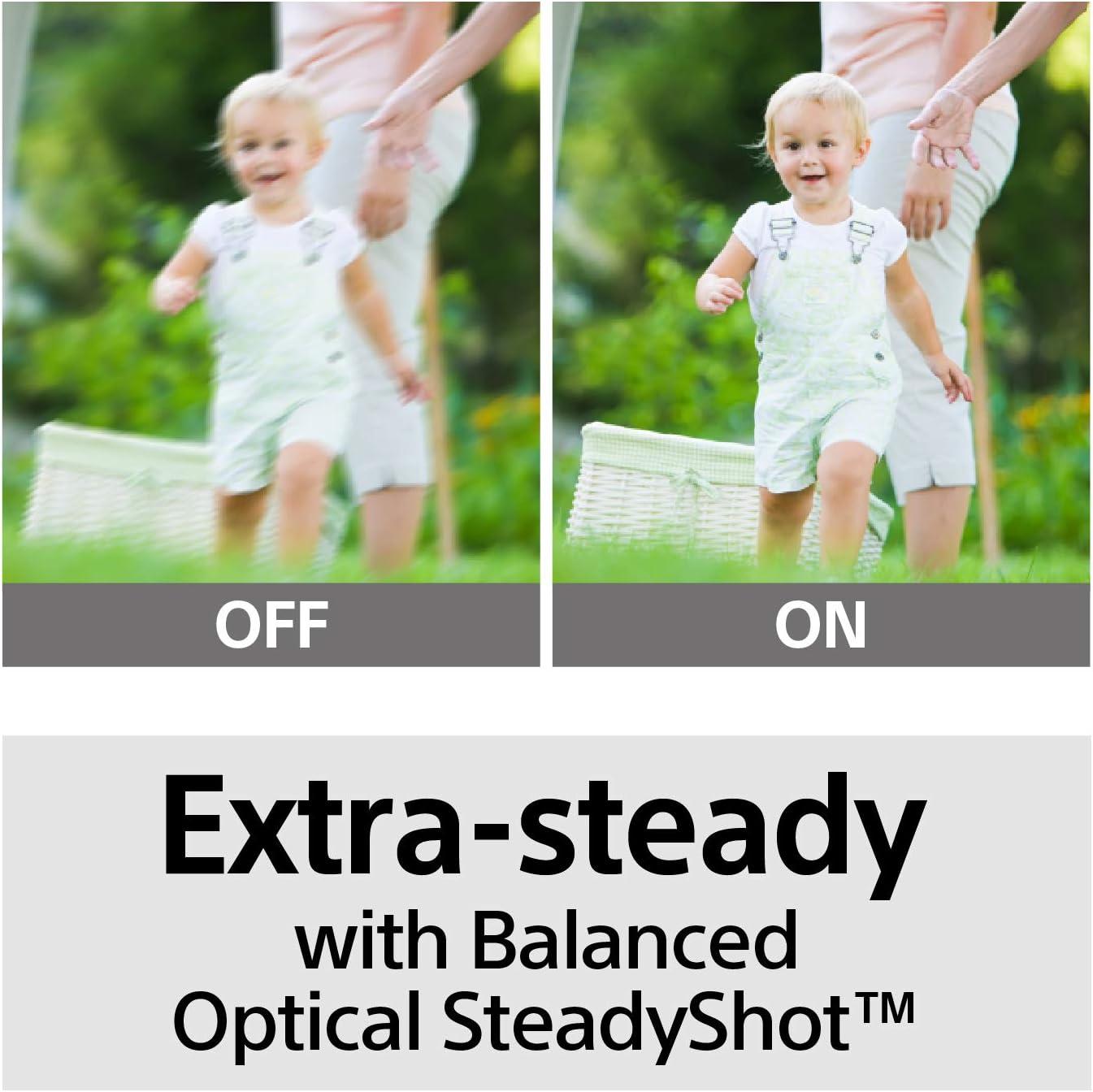 Sony FDRAX53 Image Stabilization