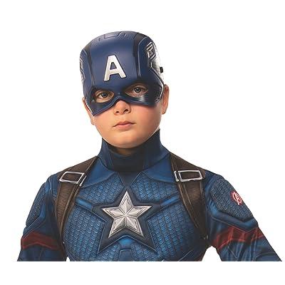 Rubie's Marvel: Avengers Endgame Child's Captain America Half-Mask: Toys & Games
