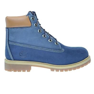 Timberland 6Inch Premium Big Kids Waterproof Boots Blue Light Blue tb0a14zd  (4 M US fc5966dacc4f