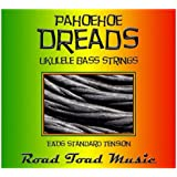 Road Toad Music Pahoehoe Dreads Ukuele Bass Strings (Color)