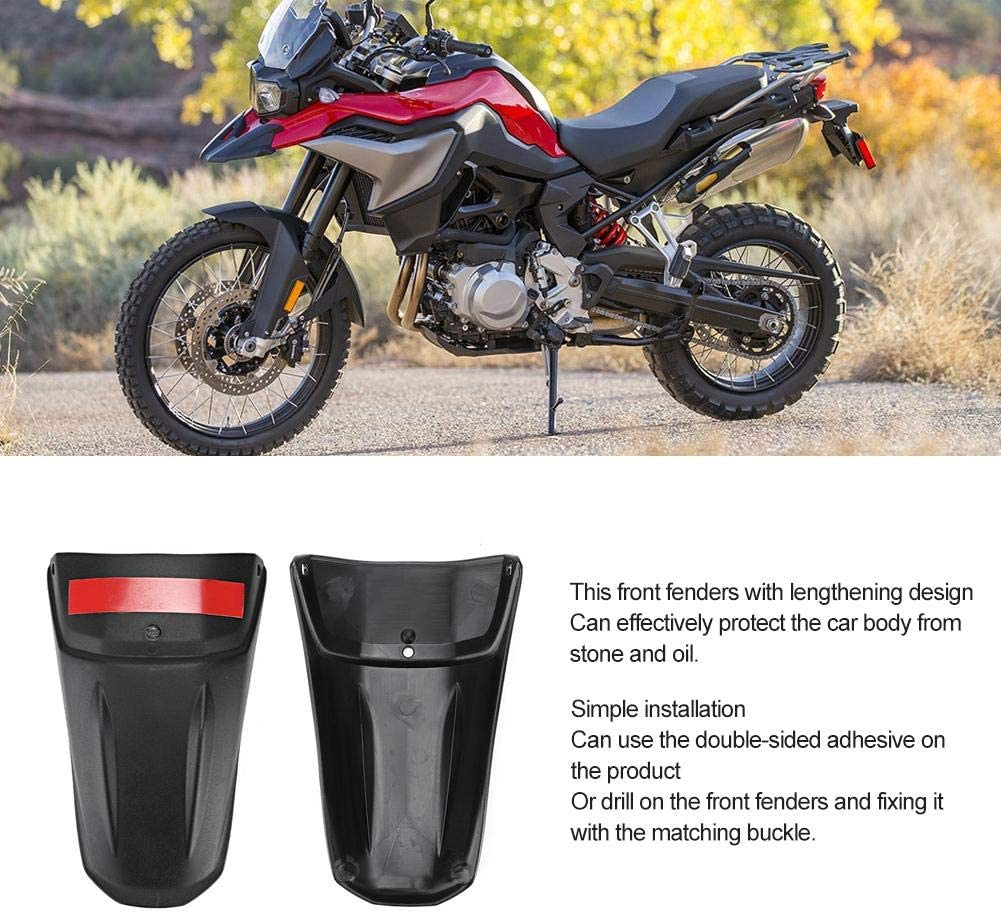 EBTOOLS Motorcycle Mud Guards,Modified Mudguard Cover Mud Flap Fenders Extension Pad Fit for F850GS 2018-2019