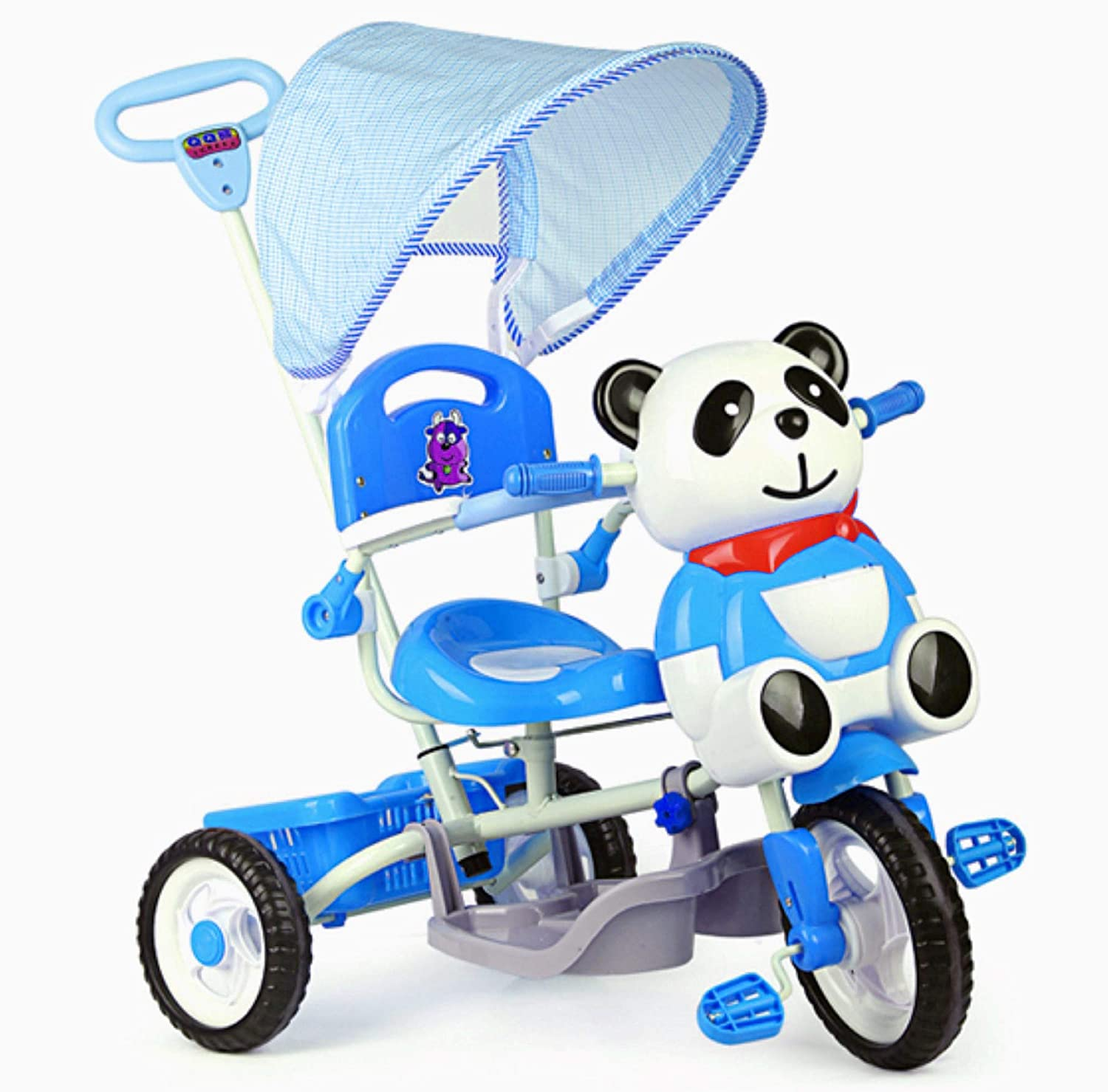Buy Toyhouse Easy to Steer Panda Baby Tricycle with Canopy and Push Handle Steering System Blue Online at Low Prices in India - Amazon.in  sc 1 st  Amazon.in & Buy Toyhouse Easy to Steer Panda Baby Tricycle with Canopy and Push ...