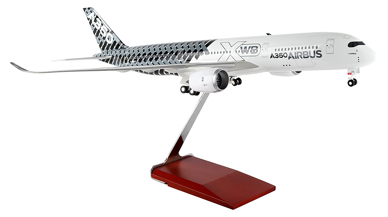 Airbus A350 House Color 'Carbon' Scale 1/100 w/Gear SkyMarks SKR8804