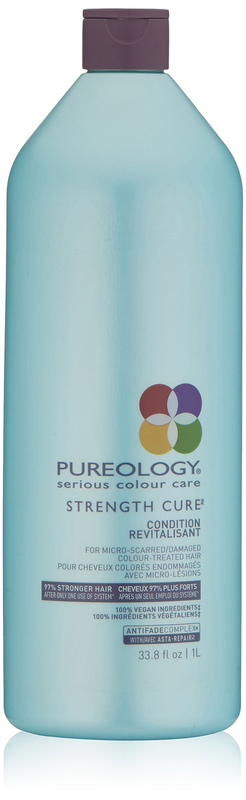 Pureology Strength Cure Conditioner, 33.8 Fl Oz by Pureology