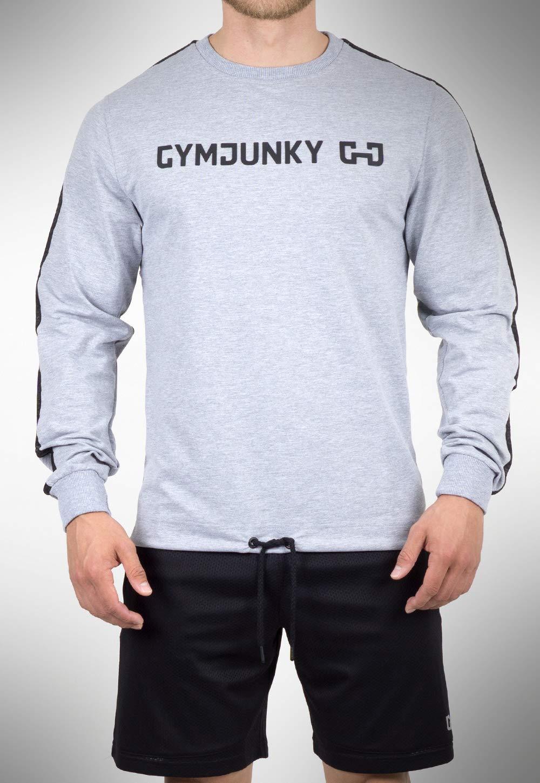 GYMJUNKY OverGröße Training Sweater Grau