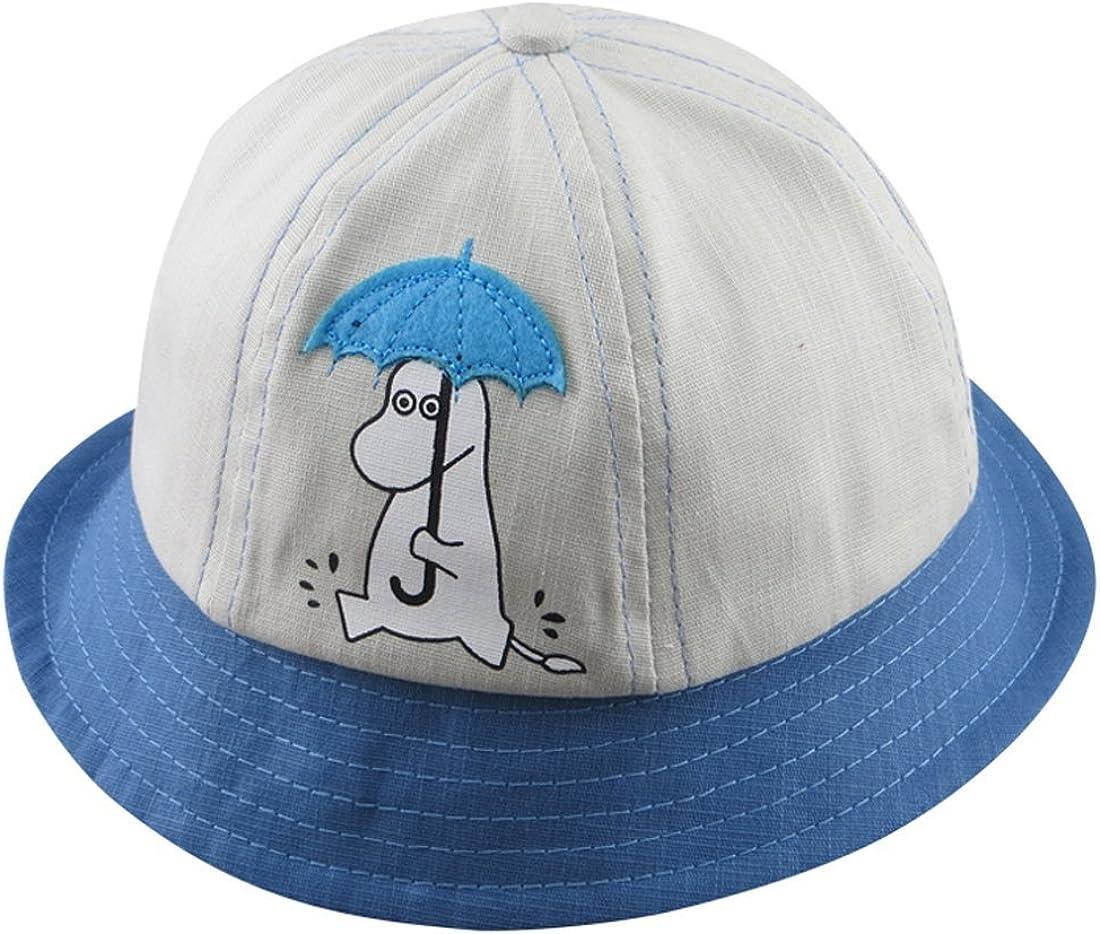ACVIP Girls Horse Spliced Color Visor Style Bucket Hat