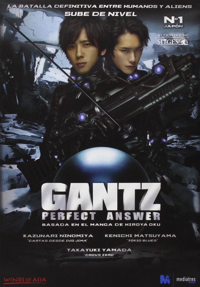 Amazon.com: Gantz: Perfect Answer (2011) (Import Movie ...