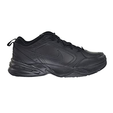 015f42bd89ee9 Nike Air Monarch IV Mens Training Shoes Black/Black 415445-001 (9.5 D