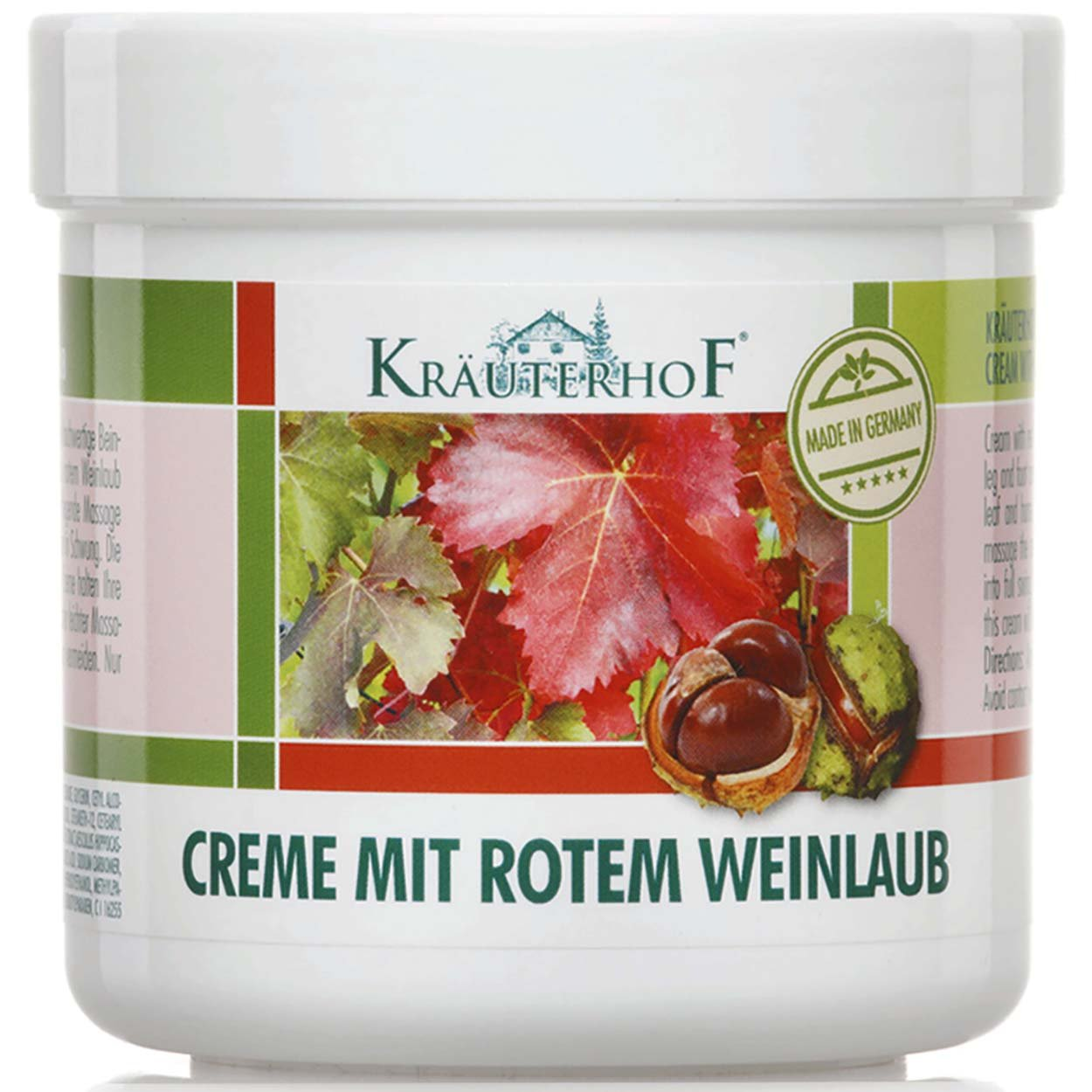 Horse Chestnut With Red Vine Leaves for Varicose Veins, Aching Legs - Large - 250ml
