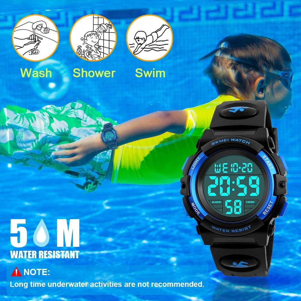 ATOPDREAM Sports Digital Waterproof Kids Watch Best Gifts