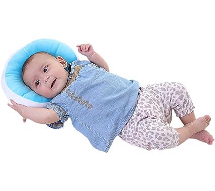 ZEEUPAI - Bebé almohada Anti - Síndrome de la cabeza plana Memoria ...