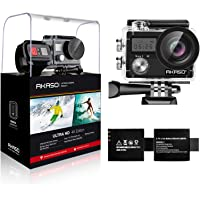 AKASO Brave 4 4K 20MP WiFi Action Camera Ultra HD with EIS 30m Underwater Waterproof Camera Remote Sports Camcorder with…