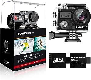 Câmera de ação WiFi AKASO Brave 4 4 K 20 MP Ultra HD com