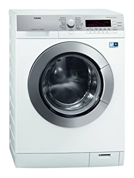 AEG L87695WD lavadora - Lavadora-secadora (Frente, Independiente, Color blanco, 7 kg, 1600 RPM, A)