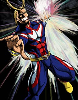 0c1f9029 XXW Artwork My Hero Academia All Might Poster One·for·All/Detroit Smash