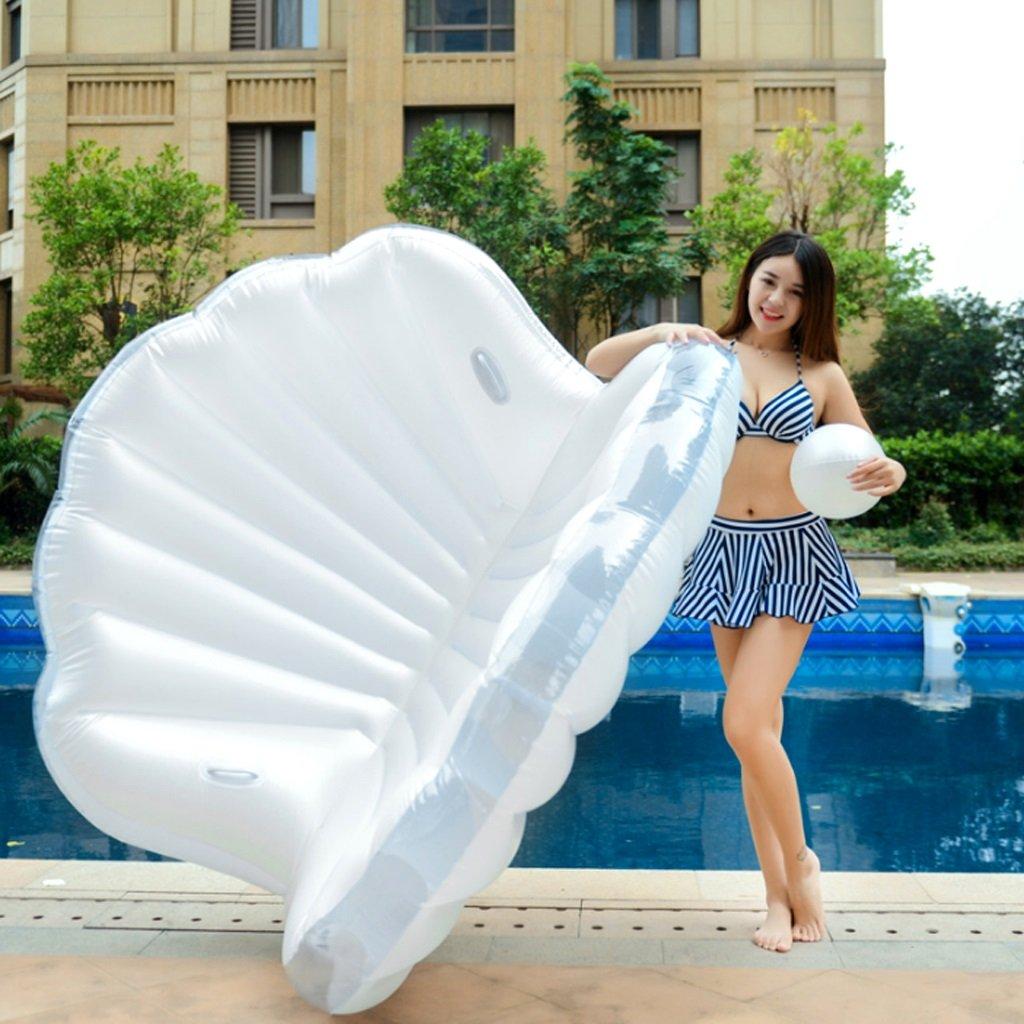 Bañera Hinchable Anillo Inflable de la natación Blanco Flotador de ...