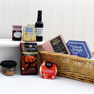 Deluxe Gentlemans Fathers Day Taylors Port Stilton Luxury Gift Tray