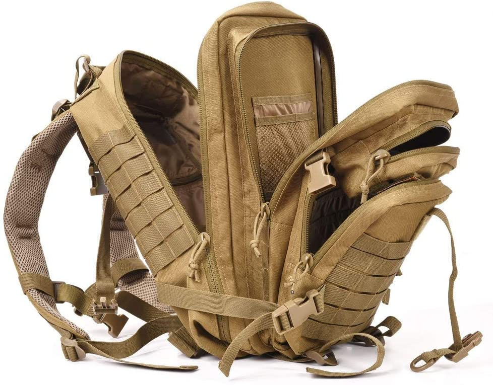 Songwin 45L Milit/ärischer taktischer Rucksack,Kompakt /& wasserdicht Barbarians Molle Tasche Armee Assault Rucksack f/ür Outdoor Wandern Camping Reisen.